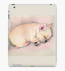 Sleeping Frenchie iPad Case/Skin