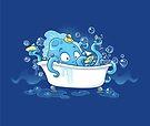 Kracken Bath by dooomcat