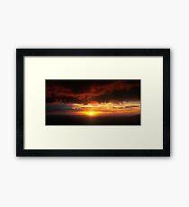 Sunset from Mt.Hotham Framed Print