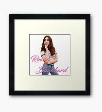 Rowan Blanchard Framed Print