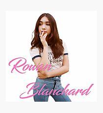 Rowan Blanchard Photographic Print