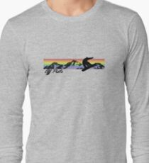 Off Piste Snowboarding Long Sleeve T-Shirt