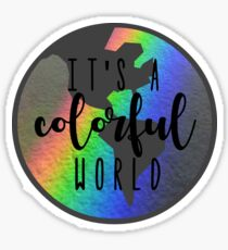 Colorful World Sticker