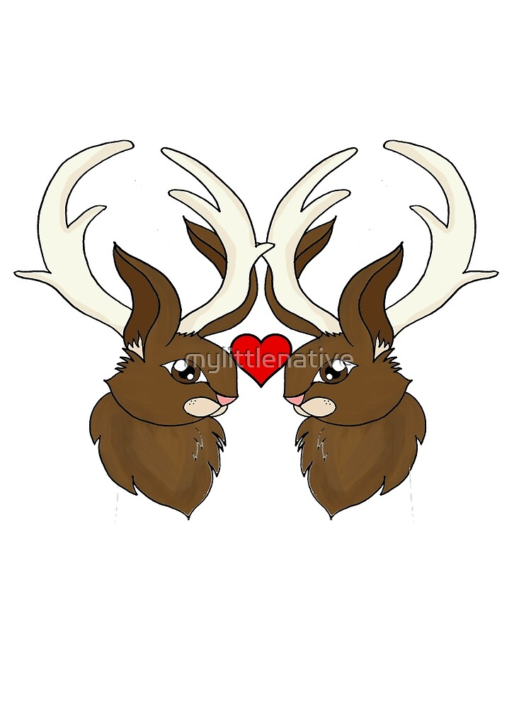Jackalope love is real love by mylittlenative