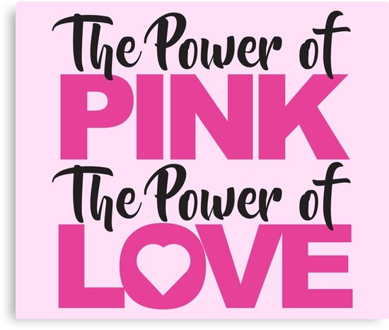 The Power of Pink The Power of Love by techDESIGNER