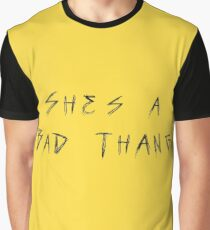 Amine Caroline She's a Bad Thang Graphic T-Shirt