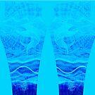 Leggings - Marlin Blue Aqua by blackmarlinblog