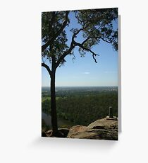 Looking East Greeting Card