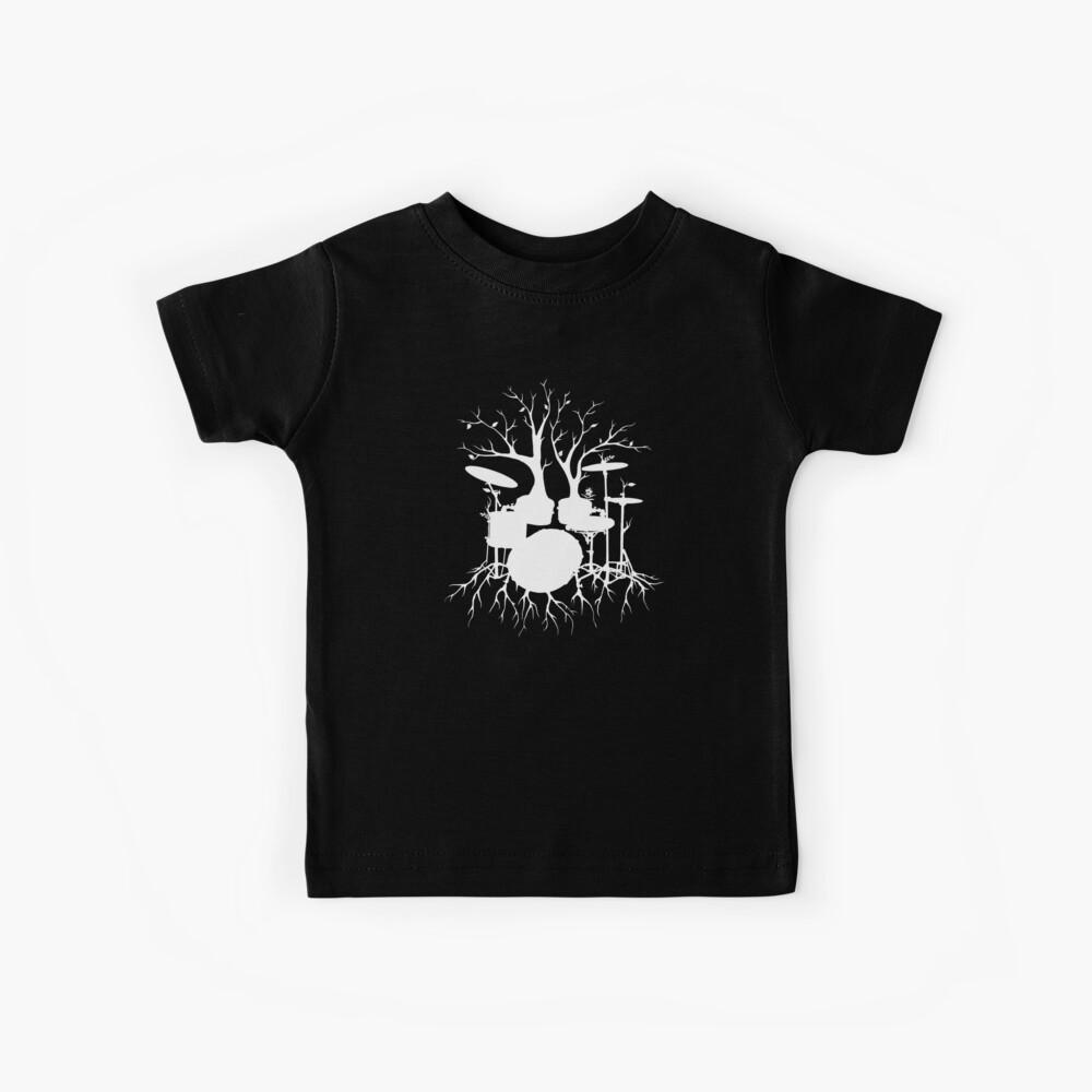 """""""Lebe den Beat zum Tempo der Schöpfung"""" ~ drum art, version1 Kinder T-Shirt"""