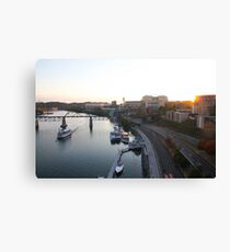 Neyland Sunset Canvas Print