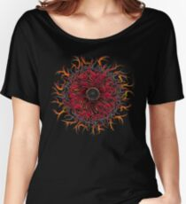 Eye of Chaos .  Women's Relaxed Fit T-Shirt