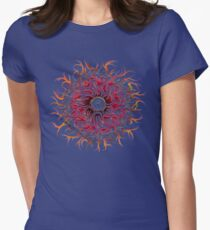 Eye of Chaos .  Womens Fitted T-Shirt