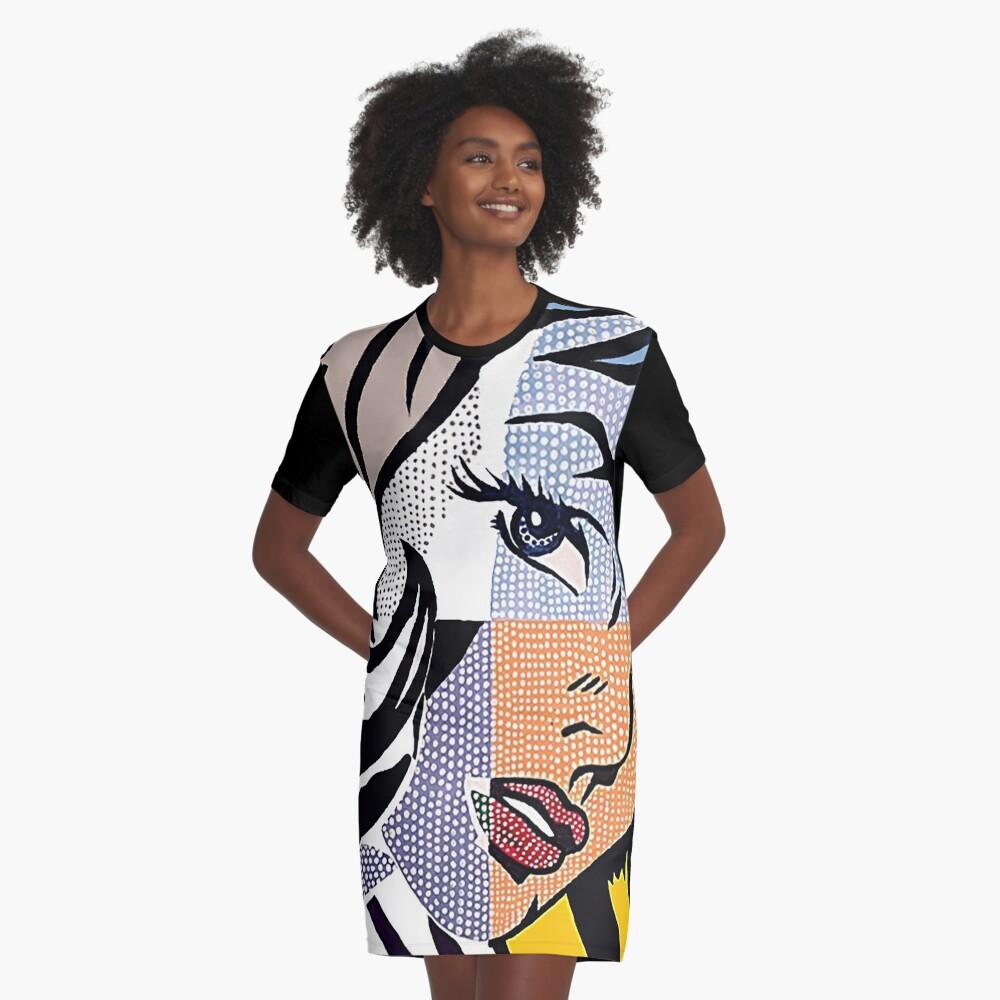 Lichtensteins Mädchen T-Shirt Kleid