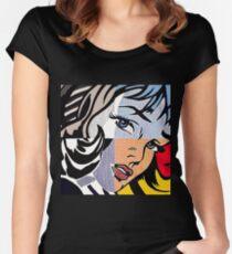 Lichtenstein's Girl Women's Fitted Scoop T-Shirt