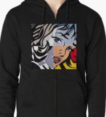 Lichtenstein's Girl Zipped Hoodie