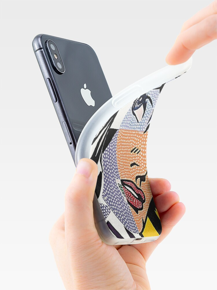 Alternate view of Lichtenstein's Girl iPhone Case & Cover