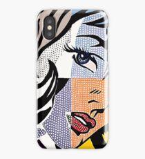 Lichtenstein's Girl iPhone Case/Skin