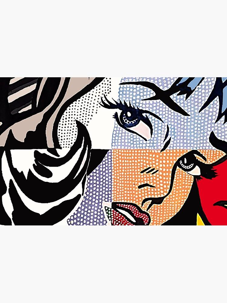 Lichtenstein's Girl by miabarnes