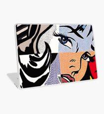 Lichtensteins Mädchen Laptop Folie