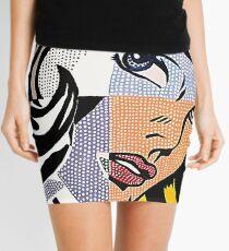 Lichtenstein's Girl Mini Skirt