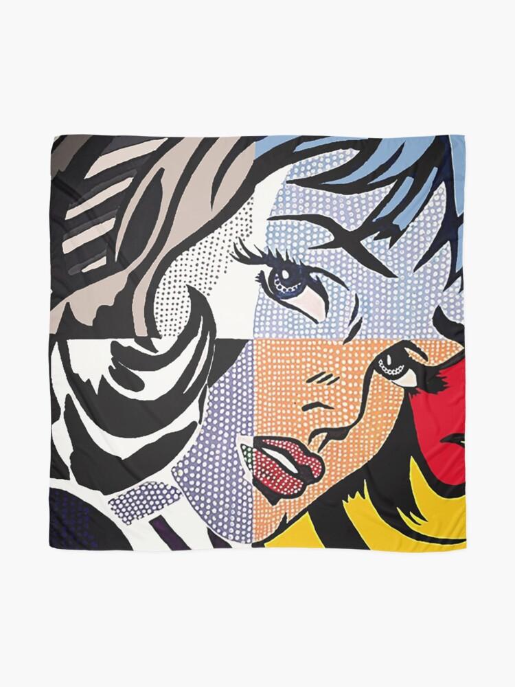 Alternate view of Lichtenstein's Girl Scarf
