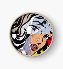 Lichtensteins Mädchen Uhr
