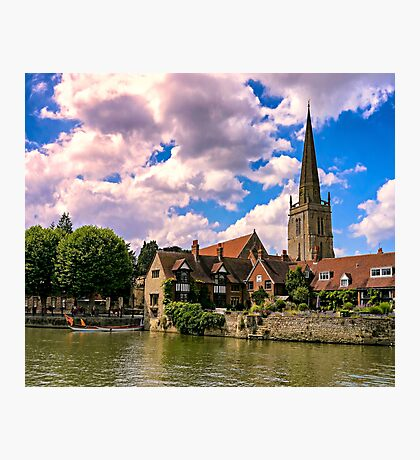 Along the Thames. Photographic Print