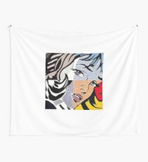Lichtenstein's Girl Wall Tapestry