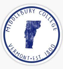 Middlebury 2 Sticker