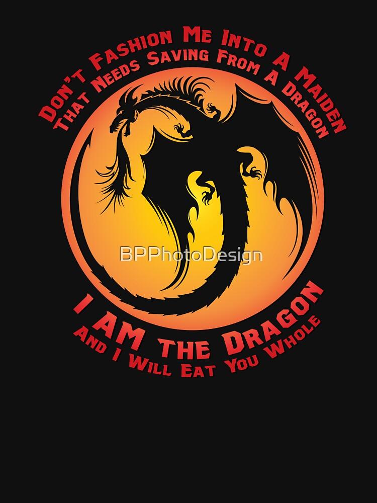 I AM the Dragon (alternative color) by BPPhotoDesign
