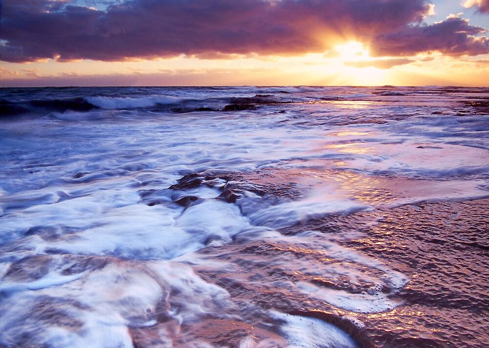 Bridgewater Bay sunset by Anthony Begovic
