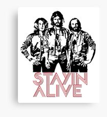 Bee Gees - Staying Alive Canvas Print