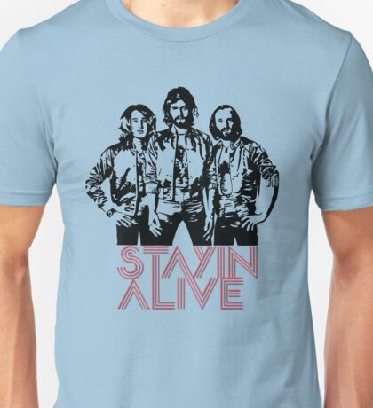 Bee Gees - Staying Alive Unisex T-Shirt