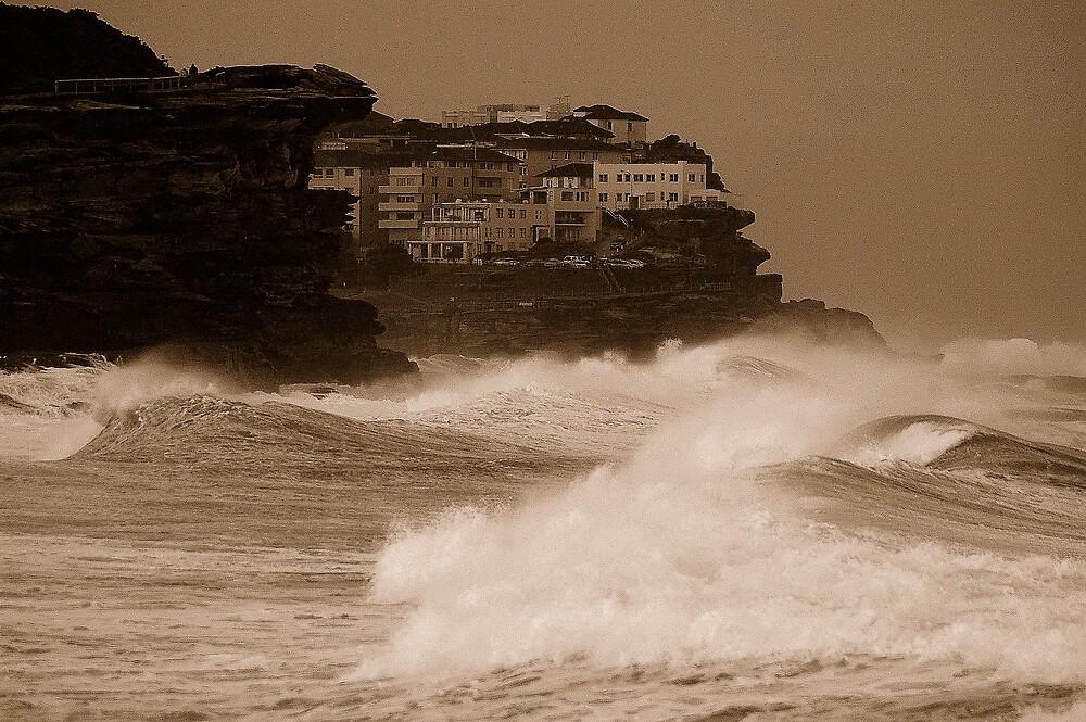 Stormy day near Bondi by matthew maguire
