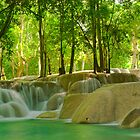 Tad Sae Waterfalls by Craig Scarr