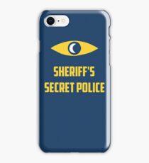 Nightvale secret police iPhone Case/Skin