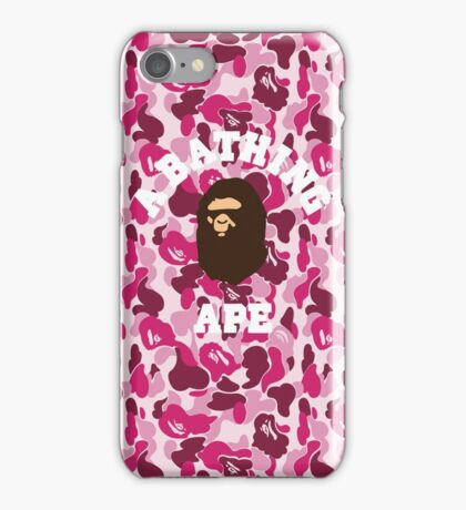 a bathing ape iPhone Case/Skin