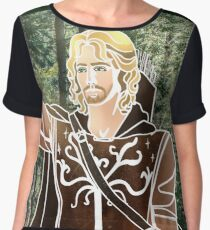 Faramir (Greek Mythology Style) Chiffon Top