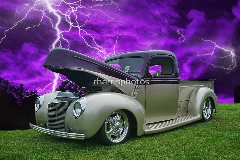 Pick up in Lightening Storm by rharrisphotos