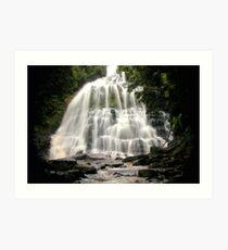 Nelson Falls, Franklin-Gordon Wild Rivers National Park, Tasmania Art Print