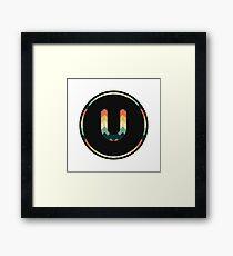 Alphabet U Framed Print