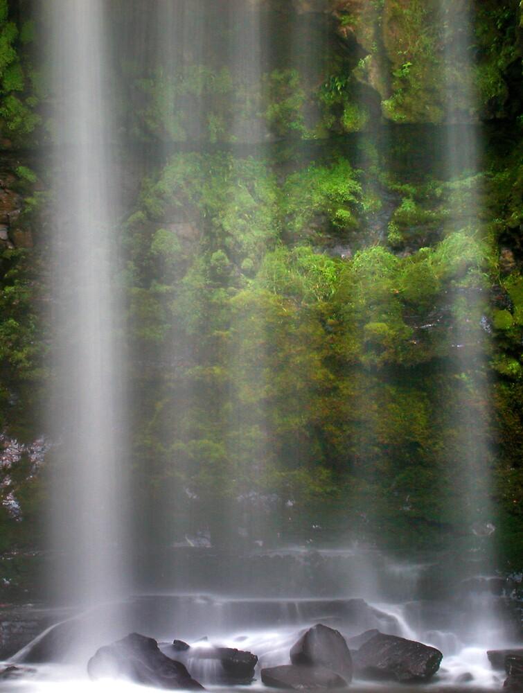 Waterfall Detail by John Barratt