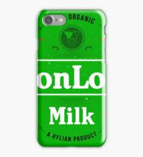 LonLon Milk iPhone Case/Skin