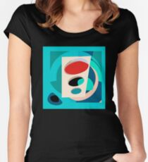 Atomic Traffic Light Women's Fitted Scoop T-Shirt
