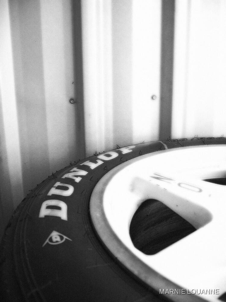 Dunlop Garage by MARNIE LOUANNE