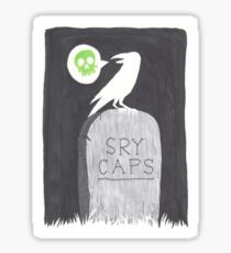 Gravestone Sticker