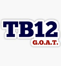 TB12 - GOAT Sticker