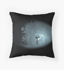 Don't Starve Spooks Throw Pillow