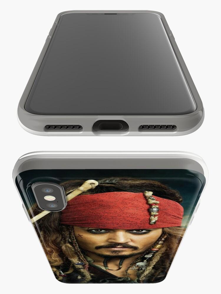 Alternative Ansicht von Jack Sparrow iPhone-Hülle & Cover