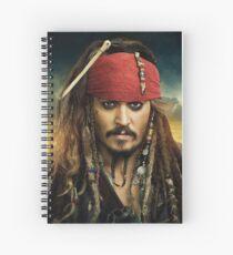 Cuaderno de espiral Jack Sparrow